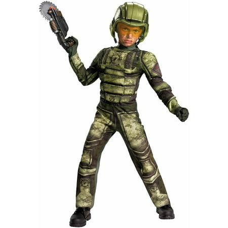 Foot Soldier Muscle Child Halloween Costume](Foot Soldier Costume)