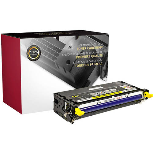CIG Remanufactured High Yield Yellow Toner Cartridge (Alternative for Dell 330-1204 G485F, 330-1196 G481F) (9000 Yield)