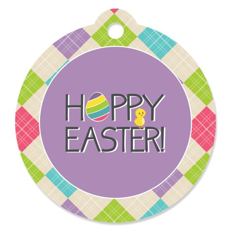 Hippity Hoppity - Easter Bunny Party Favor Gift Tags (Set of 20) ()