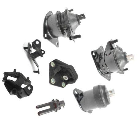 03-07 Honda Accord 2.4L Engine Motor & Trans Mount Kit 7PCS For Automatic Trans!