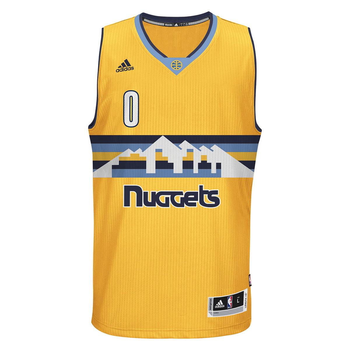 Emmanuel Mudiay Denver Nuggets Adidas Alternate Swingman Jersey (Gold)