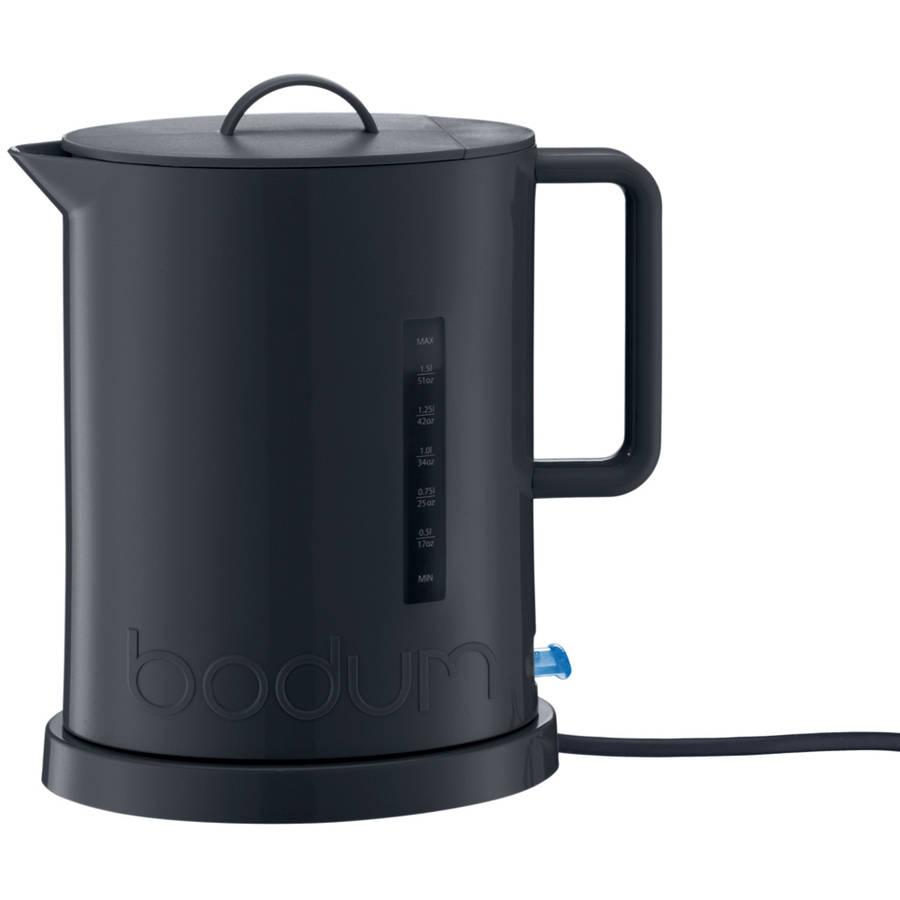 Bodum IBIS 57 Ounce Black Electric Water Kettle