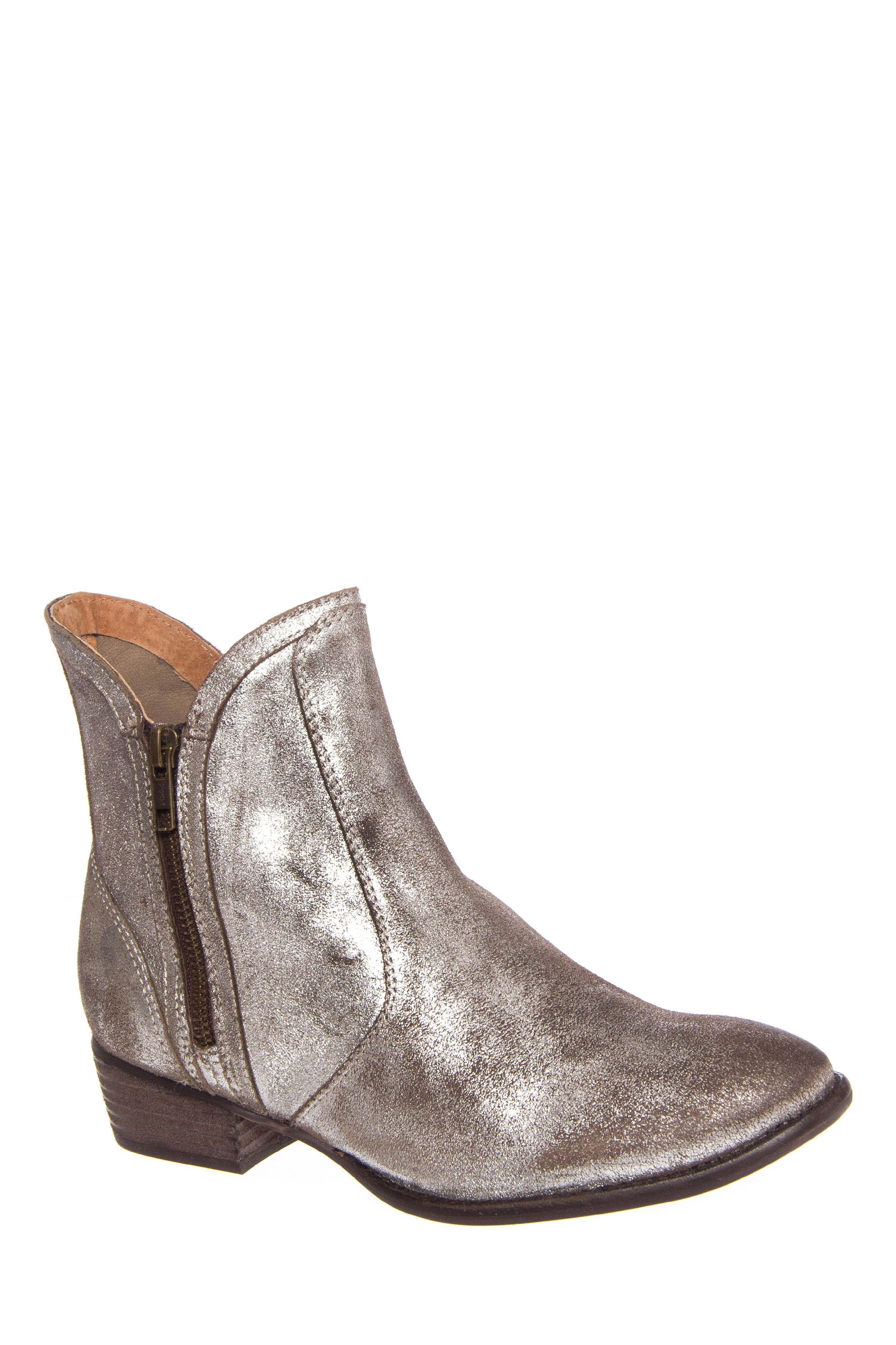 Seychelles Lucky Penny Low Heel Boot - Pewter