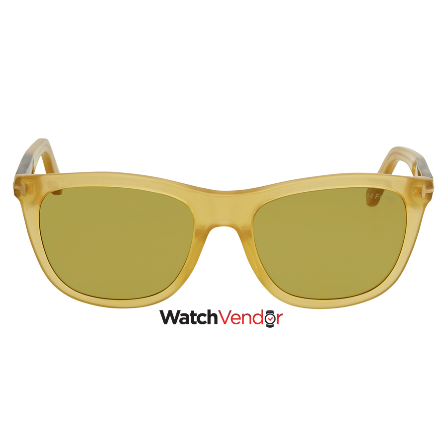 a5fe79677c Tom Ford Andrew Green Square Sunglasses FT0500 41N