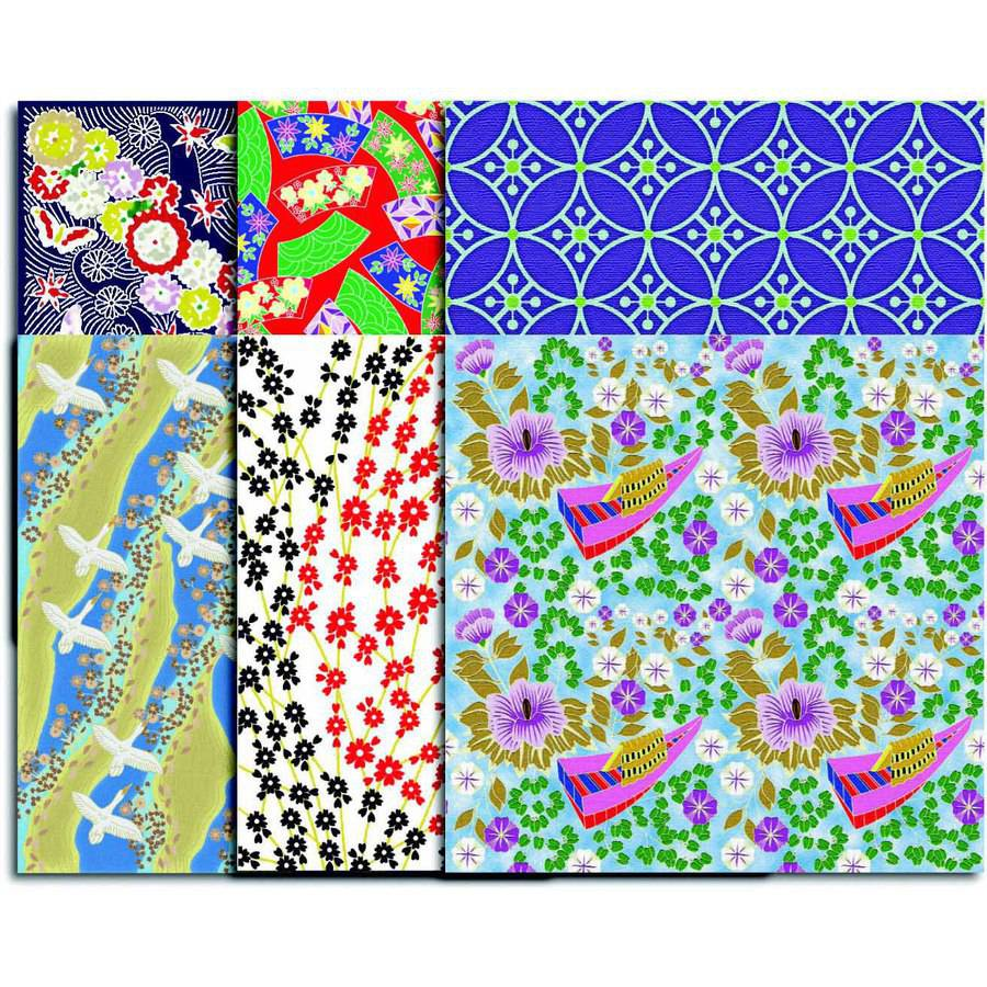 "Roylco Double Sided Really Big Origami Paper, 12"" x 12"", Assorted Prints, Pack of 30"