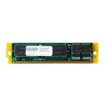 16Mb 30Pin Simm Ram Memory With Parity 16X9 60Ns For Apple  Macintosh  Musical Sampler  Old Pc  Video Controller