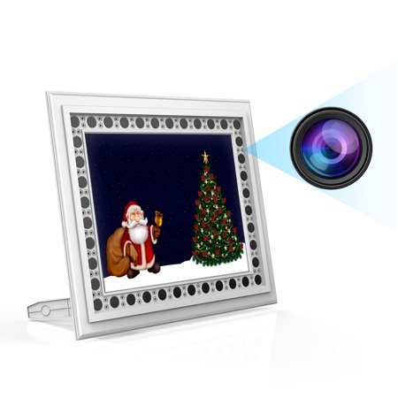 Hidden Camera Picture Frame Photo Spy Camera With Night Vision And