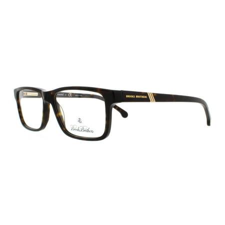 83625f6af452 BROOKS BROTHERS Eyeglasses BB 2025 6000 Tortoise 53MM - Walmart.com