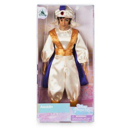 Disney Princess Classic Doll Aladdin as Prince Ali New with Box - Classic Princess Peach