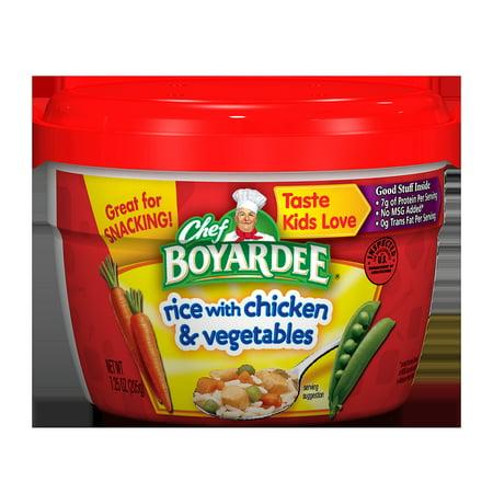 Chef Boyardee Rice With En Vegetables 7 25 Oz
