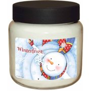 LANG Winterfrost 16-Ounce Jar Candle, Scented with Citrus, Peppermint and Vanilla