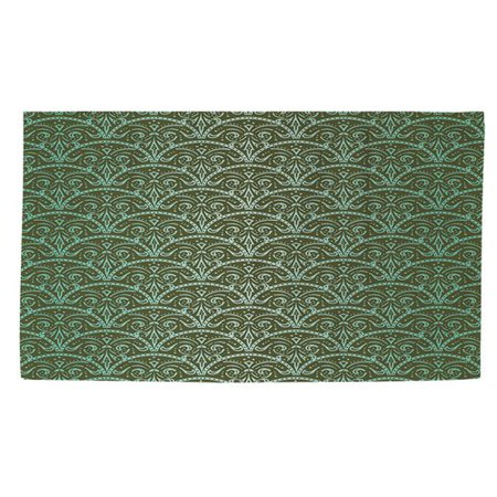 Manual Woodworkers & Weavers Dream Big Arches Green Area Rug