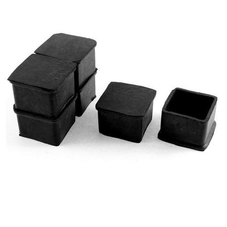 40mm X 40mm Rubber Furniture Chair Leg Cap Foot Cover