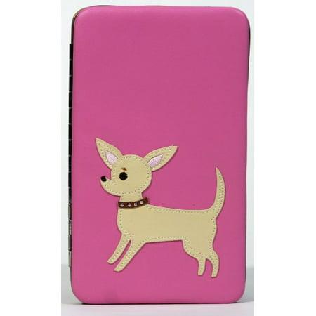 Large Frame Wallet - Retro Cheewawa Large Frame Wallet Pink