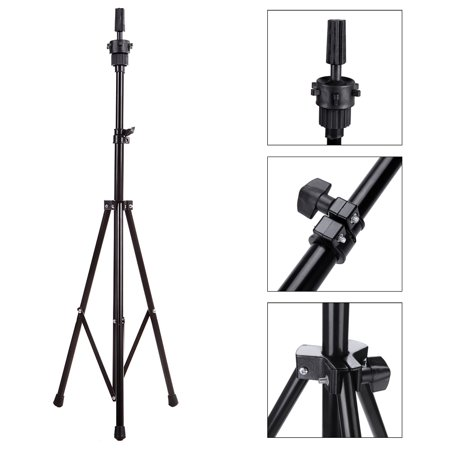 Adjustable Tripod Stand Holder Hairdressing Training Head Mold Mannequin Holder Salon Hair (Best Grounder Tripod With Heads)