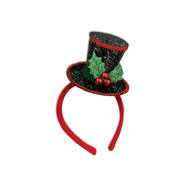Beistle 20167 Christmas Caroler Headband, Red - Pack of 12 - image 1 de 1