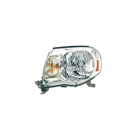 Headlight - DEPO For/Fit 8115004163 05-11 Toyota Tacoma Left Hand without Sport Pkg Clear Lens CAPA Depo Clear Projector Headlights