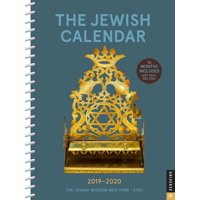 The Jewish Calendar 2019-2020 16-Month Engagement (Other)