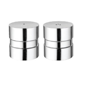 Short Salt And Pepper Wigs (New Round and short Stainless Steel Salt & Pepper Set  * Stainless Steel *)
