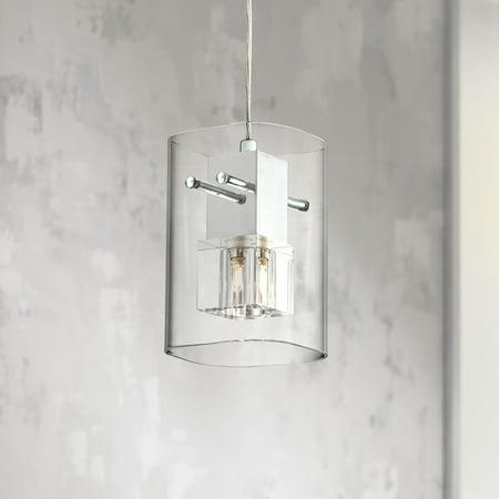 Possini Euro Design Square Glass 4 3/4