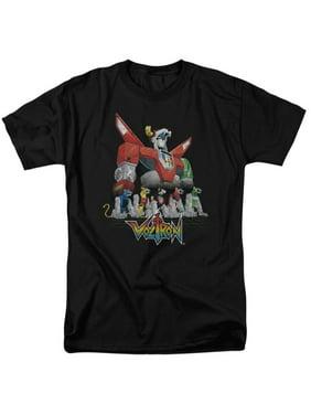 566024e5 Product Image Voltron: Defender Of The Universe TV Show Voltron's Lions  Adult T-Shirt