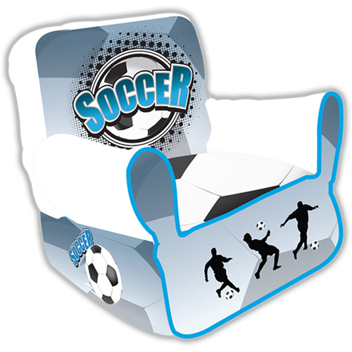 Komfy Kings Kids Soccer Goal Arm Chair