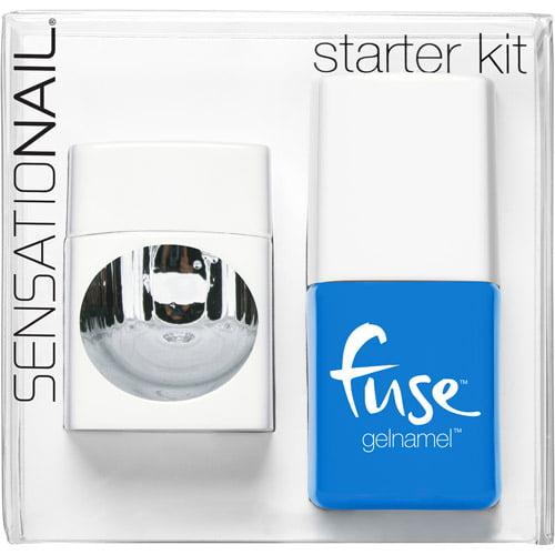 SensatioNail Fuse Gelnamel Starter Kit, Sonic Blue-M, 5 pc