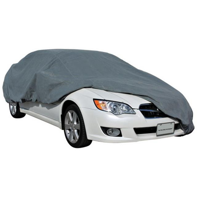 PilotBully CC6035 Quadra-Tech Four Layer Car Cover, 229-264 inch