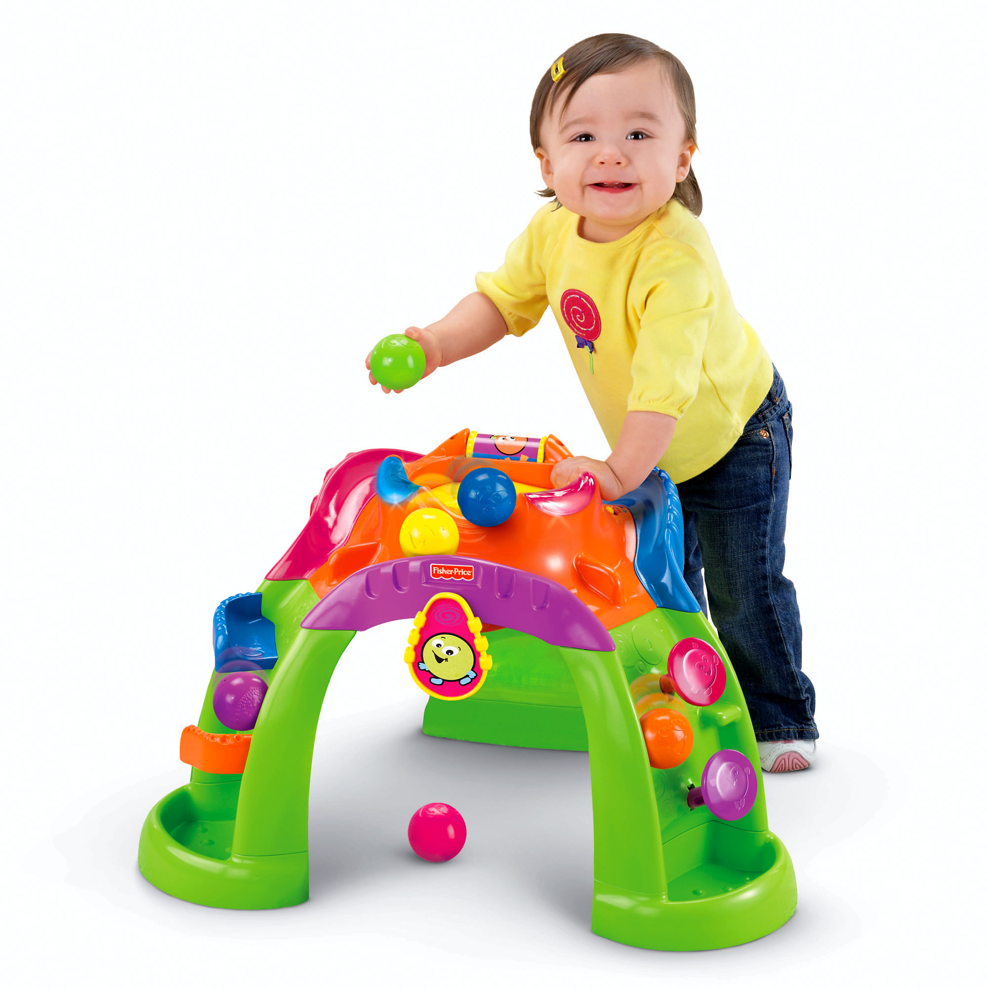 Fisher Price Stand-Up Ballcano by Fisher-Price