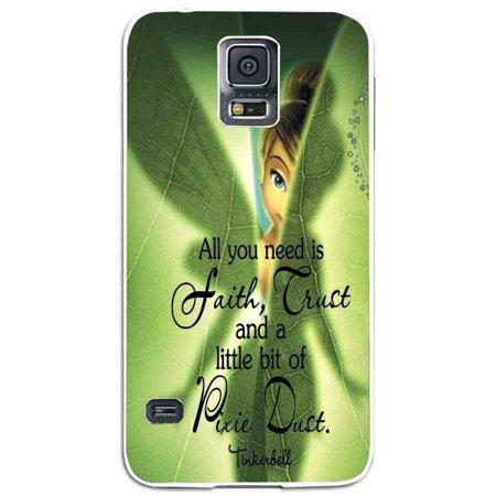 Ganma tinkerbell hide in the leaf Case For Samsung Galaxy Case (Case For Samsung Galaxy S4 White)