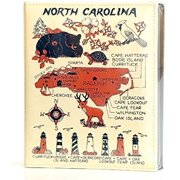 North Carolina Embossed Photo Album 200 Photos / 4x6