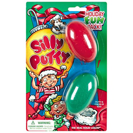 Silly Putty Holiday Fun Pack By Crayola
