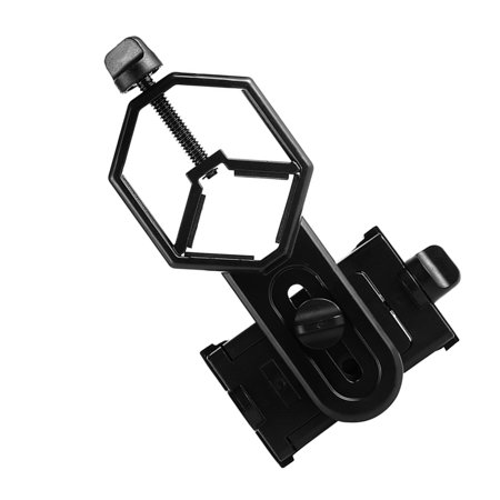 babydream1 Aluminum Alloy Telescope Phone Camera Clamp Clip Monocular Binocular Phone Bracket Holder Mount - image 6 of 9