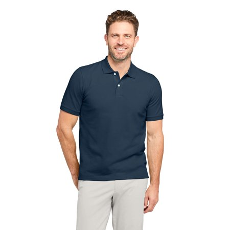 Lands' End Men's Short Sleeve Mesh Polo Shirt