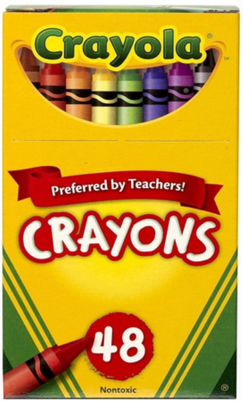 Crayola Crayons Non Toxic Coloring Page | Crayola 8 Count Ultra Clean Large Non Toxic Washable Crayon Set In