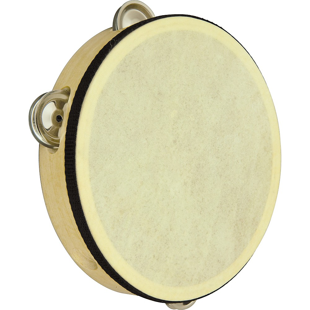 Rhythm Band Wood Rim Tambourine 8 In Rb526 by Rhythm Band
