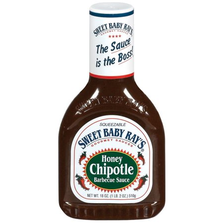 Sweet Baby Ray's Honey Chipotle Barbecue Sauce, 18 oz -  51519