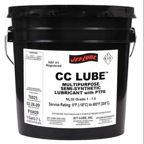 JET-LUBE 70523 Synthetic Lubricant, Multi, 1 Gal, NSF H-1