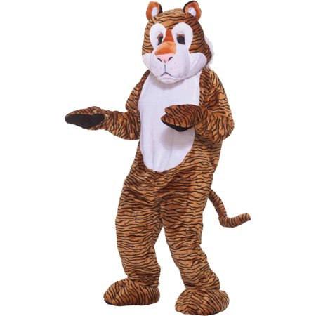 Morris Costumes Adult Unisex Tiger Mascot Complete Outfit One Size, Style FM68213