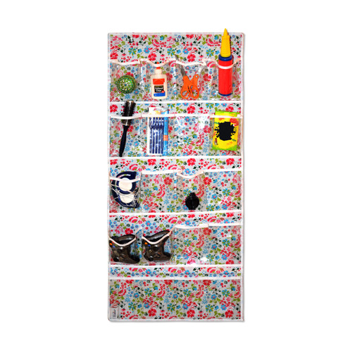 Bonita 20-Pocket Shoe and Accessory Hanging Organizer