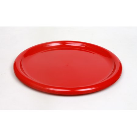 Mainstays Red Plate, 4 Pack