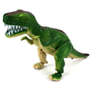 Fantasy Dinosaur T-Rex Battery Operated Toy Dinosaur Figure w/ Realistic Movement, Lights and Sounds (Colors May Vary)