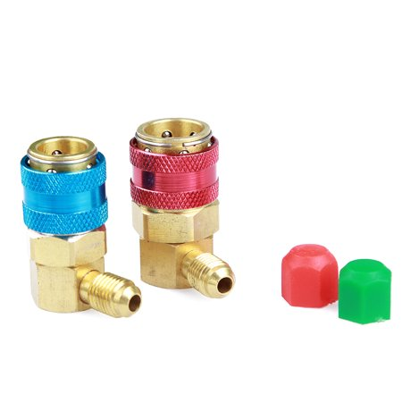 R134a Conversion Quick Connect Coupler Kit,1/4
