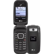 TracFone - LG 442BG with 2GB Memory Prepaid Cell Phone - Black