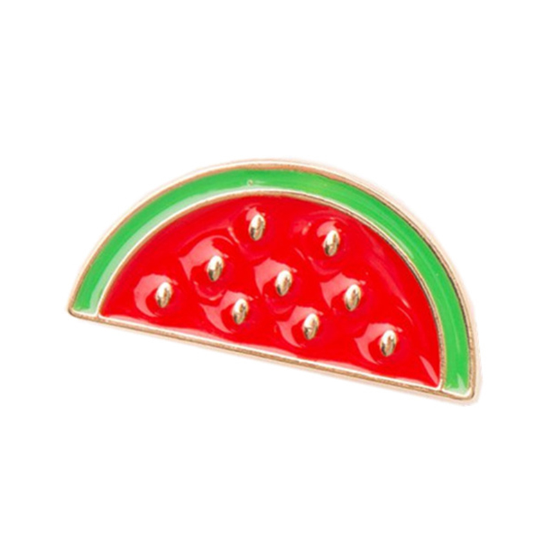 Stylish Woodpecker Watermelon Cartoon Brooch Creative Unique Alloy Breastpin Clothing Bag Hat Accessories - image 2 of 7