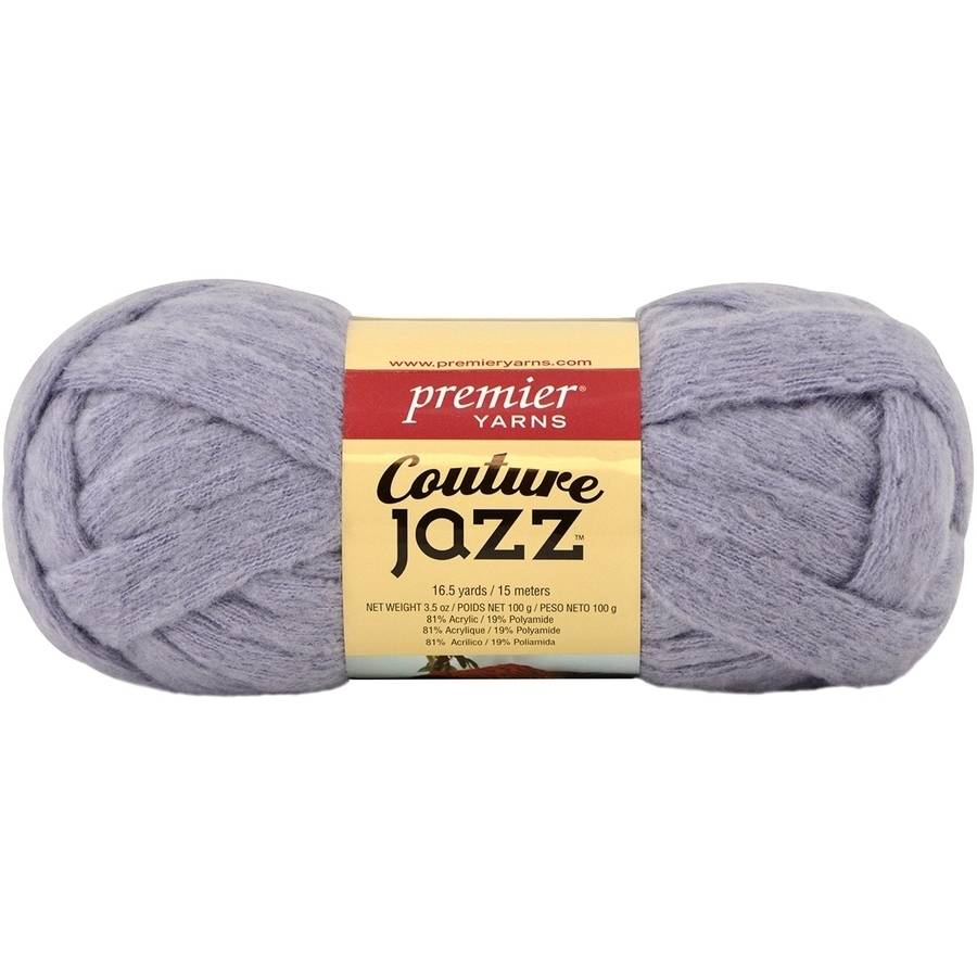 Couture Jazz Yarn-Lavender Gray