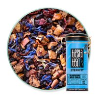 Tiesta Tea Blueberry Blueberry Wild Child, Hibiscus Fruit Tea, 50 Servings, 5.5 Ounce Tin - Caffeine-Free, Loose Leaf Herbal Tea Eternity Blend, Non-GMO