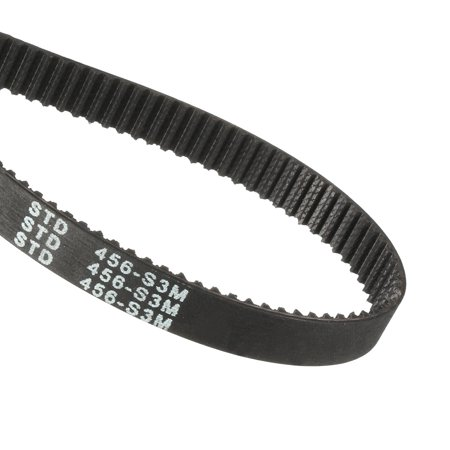 S3M 152 Teeth Engine Timing Belt Rubber Geared-Belt 456mm Girth 10mm Width - image 3 of 3