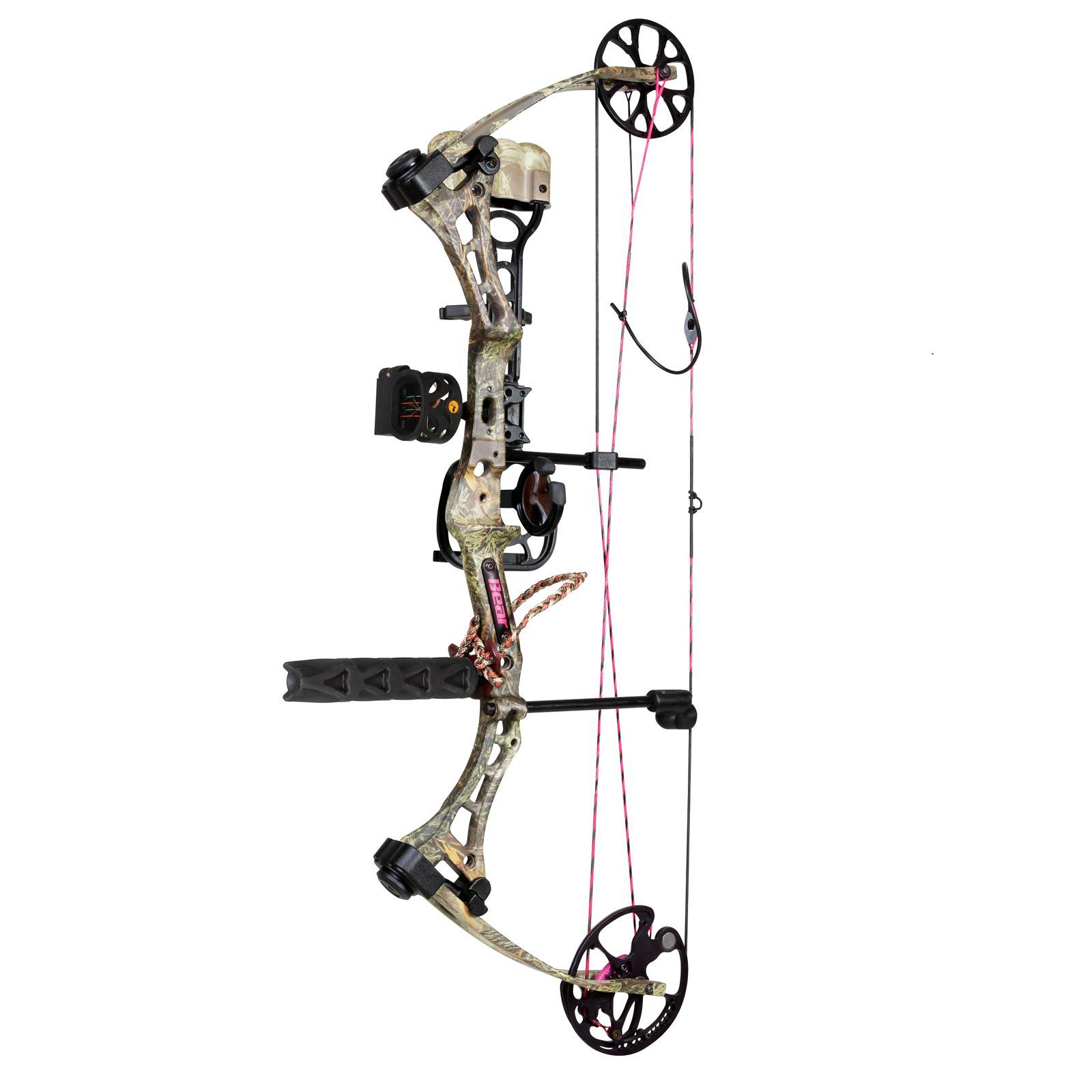 Bear Archery Finesse RTH Compound Bow RH 40# 23-28in Max-1/Pink, A4FS11004R