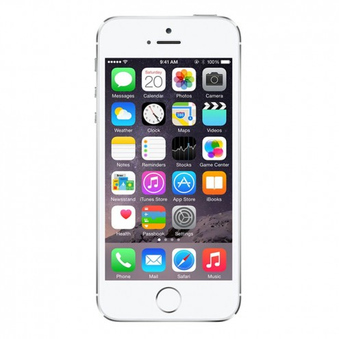 iphone 5s gsm unlocked refurbished iphone 5s 32gb silver gsm unlocked walmart 14808